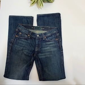 7 For All Mankind Boot Jeans size 25